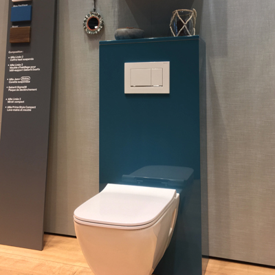 Allia sanitaires nouvelle collection Salon Batimat