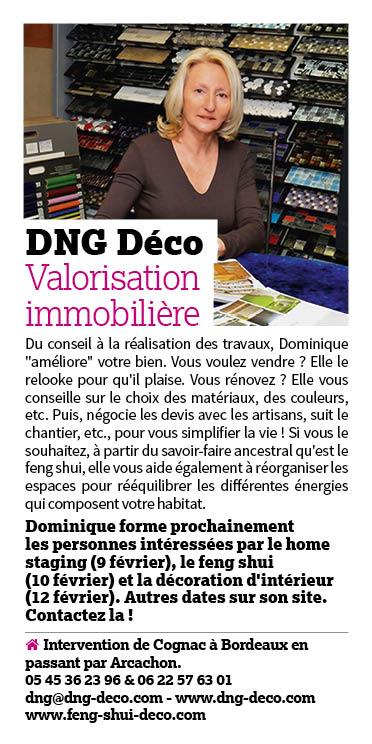 Article Ici magazine février 2018 - DNG déco