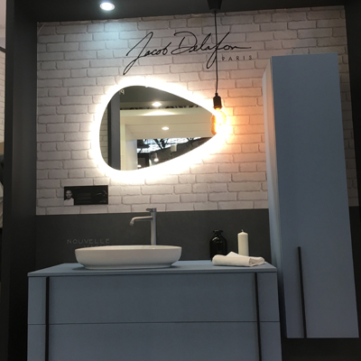 Jacob delafon sanitaire salon BATIMAT